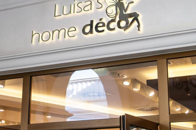 création de logo personnalisé | Luisa's home déco