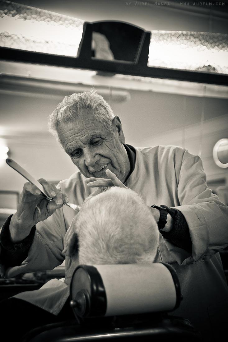 The old barbershop  DYSTALGIA  Aurel Manea photography