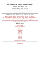 Firedocs CRV Manual