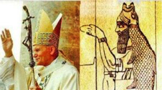 Why is The Popes Mitre Shaped Like a Fish  Auricmedia