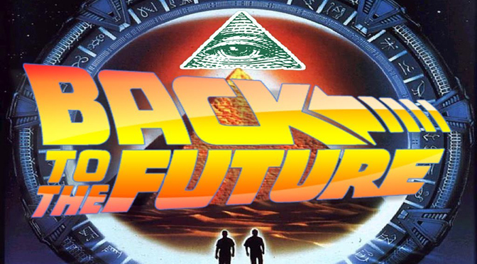 Back to the Future Illuminati Symbolism