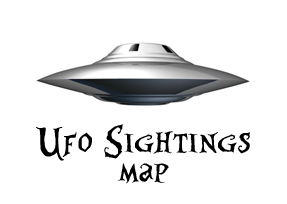 UFO Sightings map