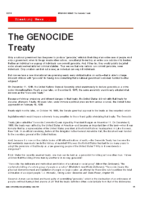Genocide Treaty