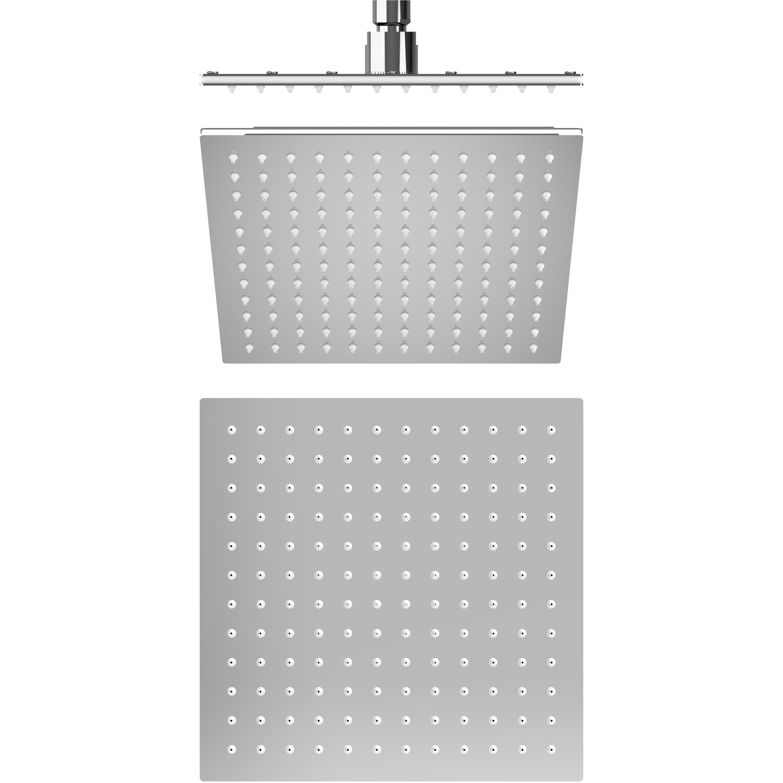 Auriga Rain Shower Sms220 232mm X 232mm Square Shape Overhead Rain Shower