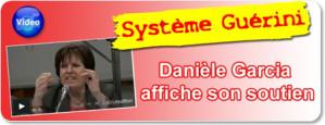 Système Guérini : Danièle Garcia affiche son soutien - VIDÉO
