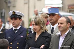 Véronique Miquelly - commémoration 8 mai 1945 à Auriol (