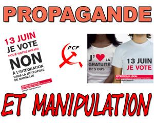 agglo aubagne auriol propagande et manipulation