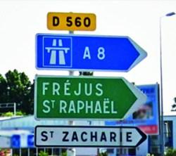 Panneau RD 560