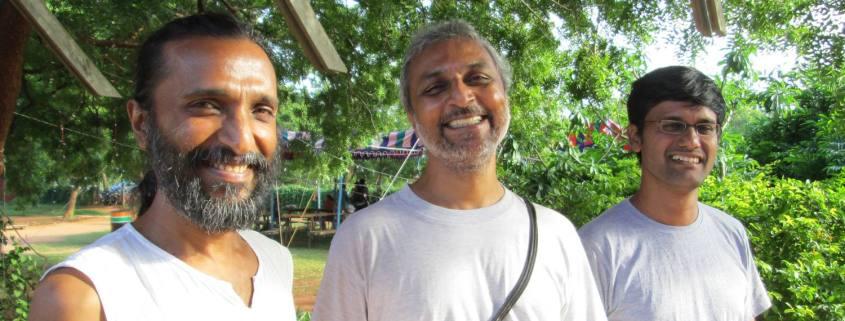 Sopanam Team: Manoj, Hemant, Arnab