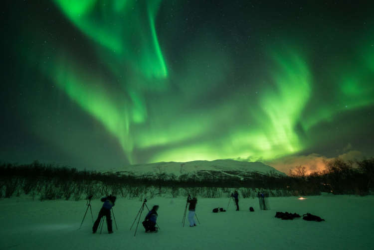 Kiruna Northern Lights Forecast