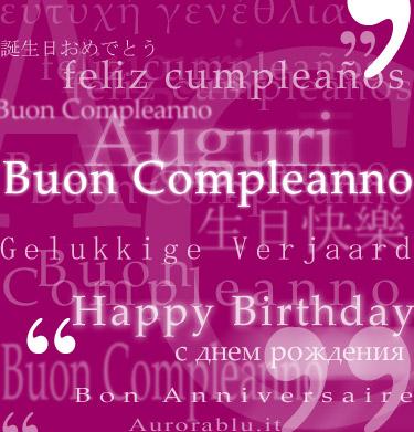 Buon 35° compleanno Giuseppe!!!