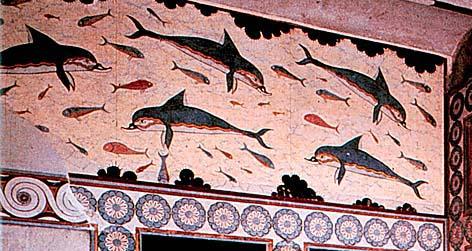 Palazzo di Knossos - Delfini
