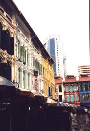 Chinatown a Singapore