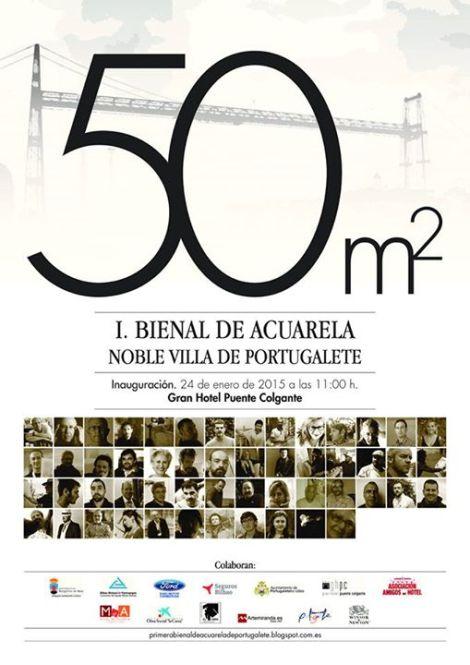 El próximo dia 24 de enero del 2015, tendrá lugar la inauguración de la 1ª Bienal de Acuarela en la Noble Villa de Portugalete. La exposición  consta de 50 obras de  pintores nacionales e internacionales, entre los que se encuentra Aurora Charlo,