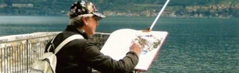 A. Charlo pintando en Bellagio - Versión 2