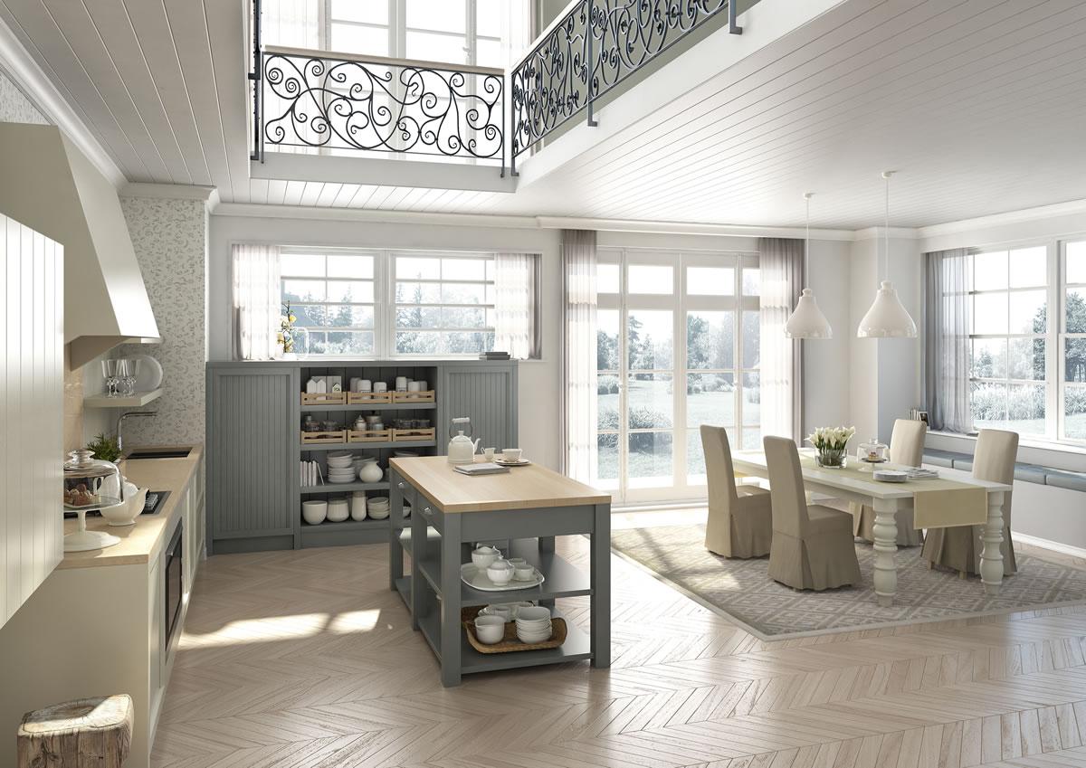 Cucine design stile inglese componibili decorazione dinterni Farrow  Ball Siena