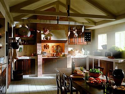 Cucine Rustic chich classiche in muratura Poggibonsi Siena Firenze