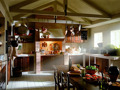 Cucine Rustic chich classiche in muratura Poggibonsi Siena
