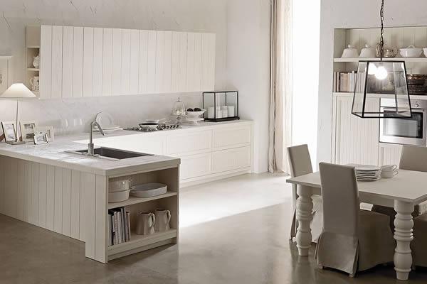 Il concept moderno applicato al kitchen design nasce dalla domanda. Cucine Country Chic Moderno In Legno Aurora