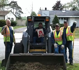 City of Aurora workers in 2012.