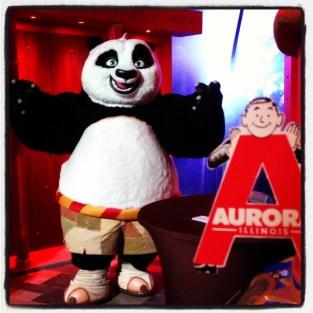 Kung Fu Panda at Opryland in Nashville, TN 2012
