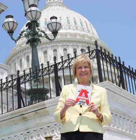 Former Representative Judy Biggert at the U.S. Capital in 2012