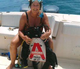 Scuba diving in Honduras 2012