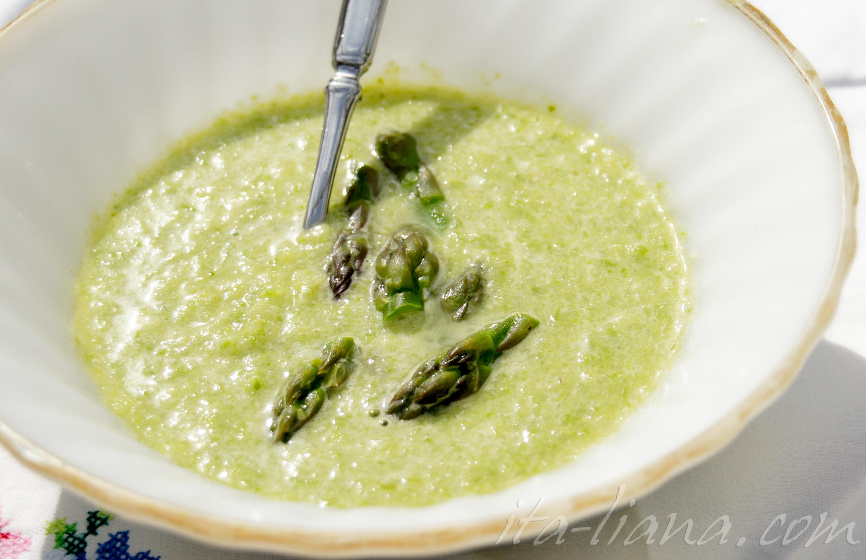 cream of asparagus soup italian recipes