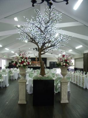 Blossom Room Wedding Photo