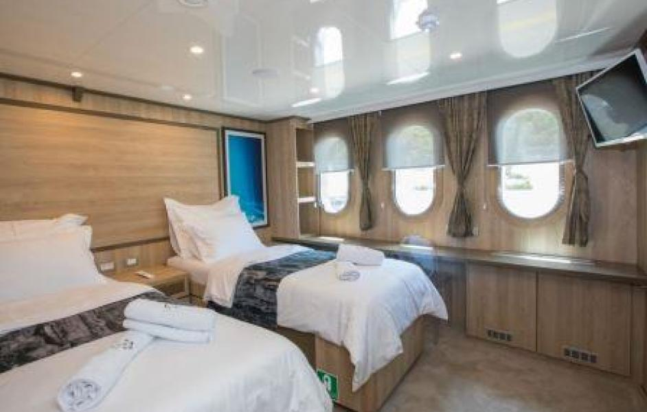 one way cruise croatia twin cabin