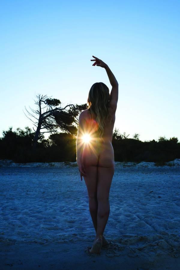 Doria Gani naked yoga