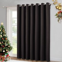 Wide Width Patio Doors Blinds - Thermal Blackout Patio ...