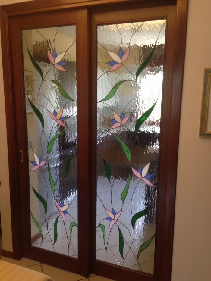 Vetrate artistiche e vetri decorati foto