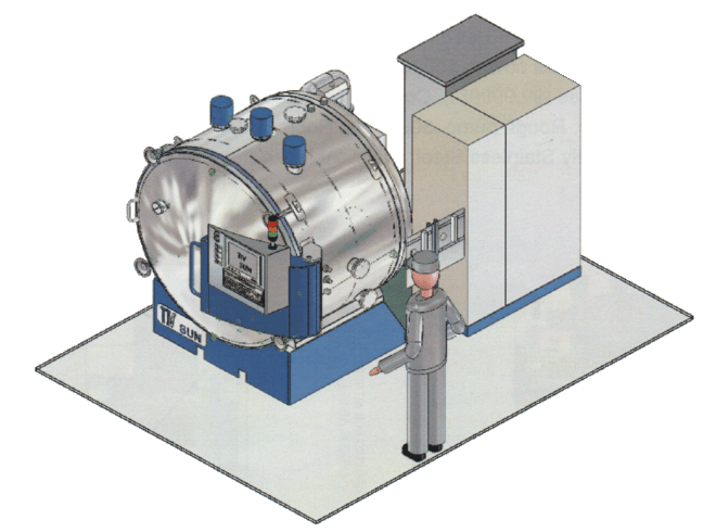 PHOTOVOLTAIC FURNACE OF FRENCH MANUFACTURE