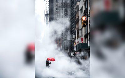 The Red Umbrella, NYC - Publication Le Parisien, concours RATP #PhotoRATPhie - © Aurore Alifanti Photographie - French photographer, photography, Voyage, Travel