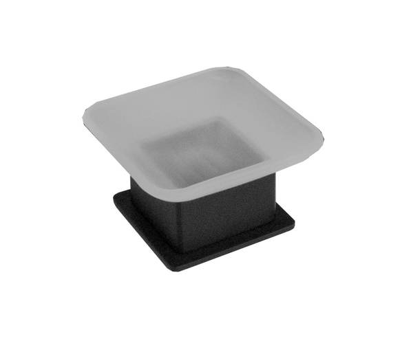 Jamie.J Soho Soap Holder BK 600x493