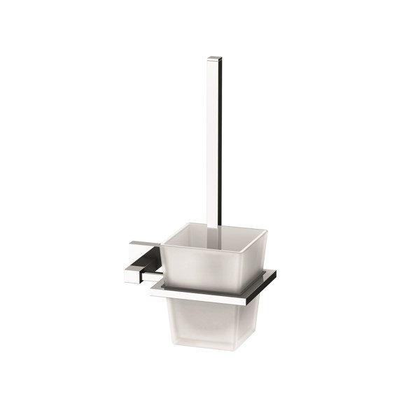 Phoenix LE50800C Lexi Toilet Brush& Holder 600x600