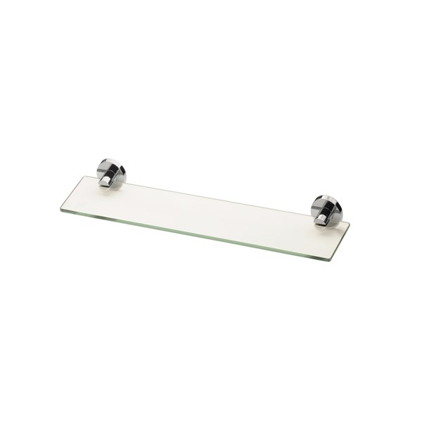 Phoenix RA896CHR Radii Glass Shelf 600x600