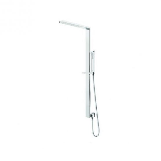 Aquas SPA Twin Shower System Chrome 600x600