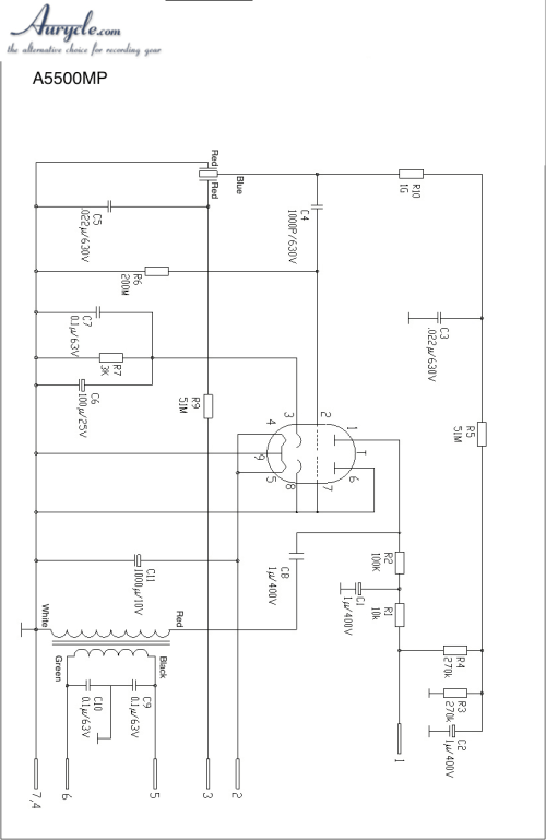 small resolution of tube microphone schematics