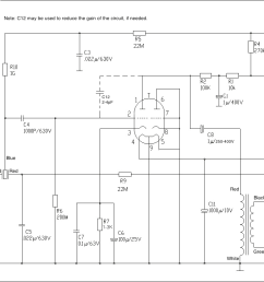 diy vacuum tube condenser microphone kit tube mic wiring diagram [ 1270 x 825 Pixel ]