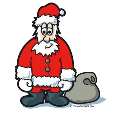 Das Finanzamt ist nicht der Weihnachtsmann (by toonworkshop)