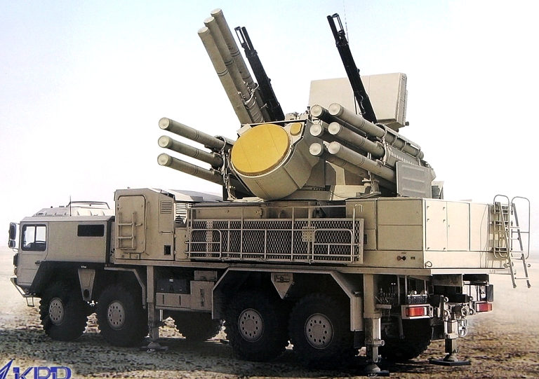 Image result for Pantsir-S1, photos