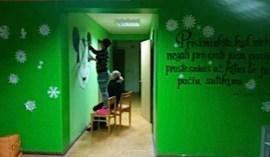 Flur in einem der zwei Jugendlhilfezentren