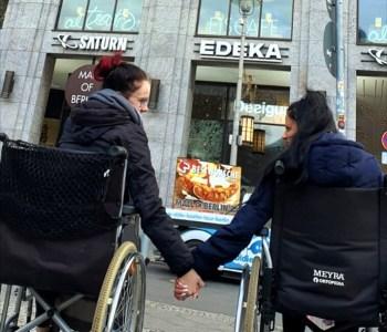 Brufliche Schule Paula Fürst FAWZ gGmbH_Rollstuhlfahrer für einen Tag_Dezember 2019