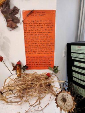 Fanatasietiere aus Naturmaterialien_Der Herbstdrache und die Herbstelfe