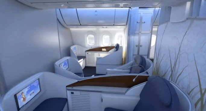 China Southern Boeing 787 First Business Economy Seat