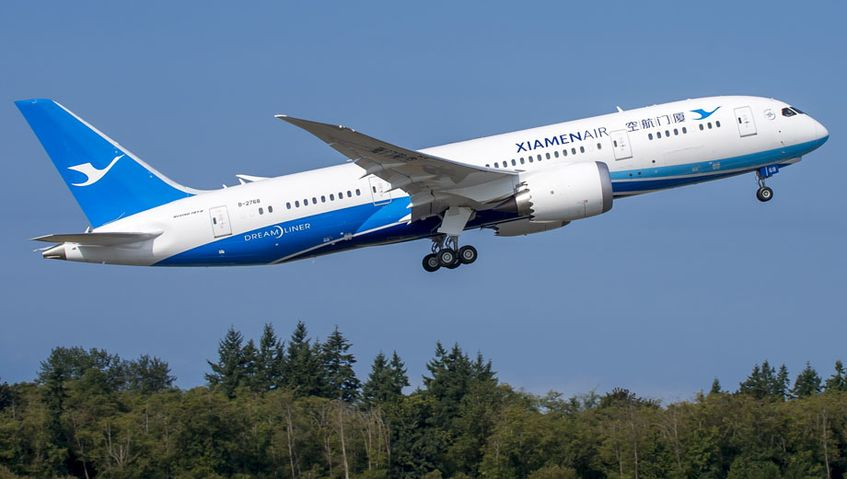 XiamenAir plans Sydney-Fuzhou, China flights on Boeing 787