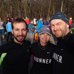 79. Plänterwaldlauf 2016 - Vor-Startbild Hannah, Wilhelm und Carsten