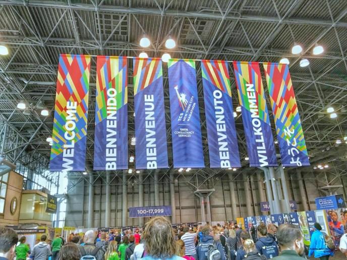 New-York-City-Marathon, Lultras, PreRace 2017, Marathon-Messe, Exhibition, Willkommen